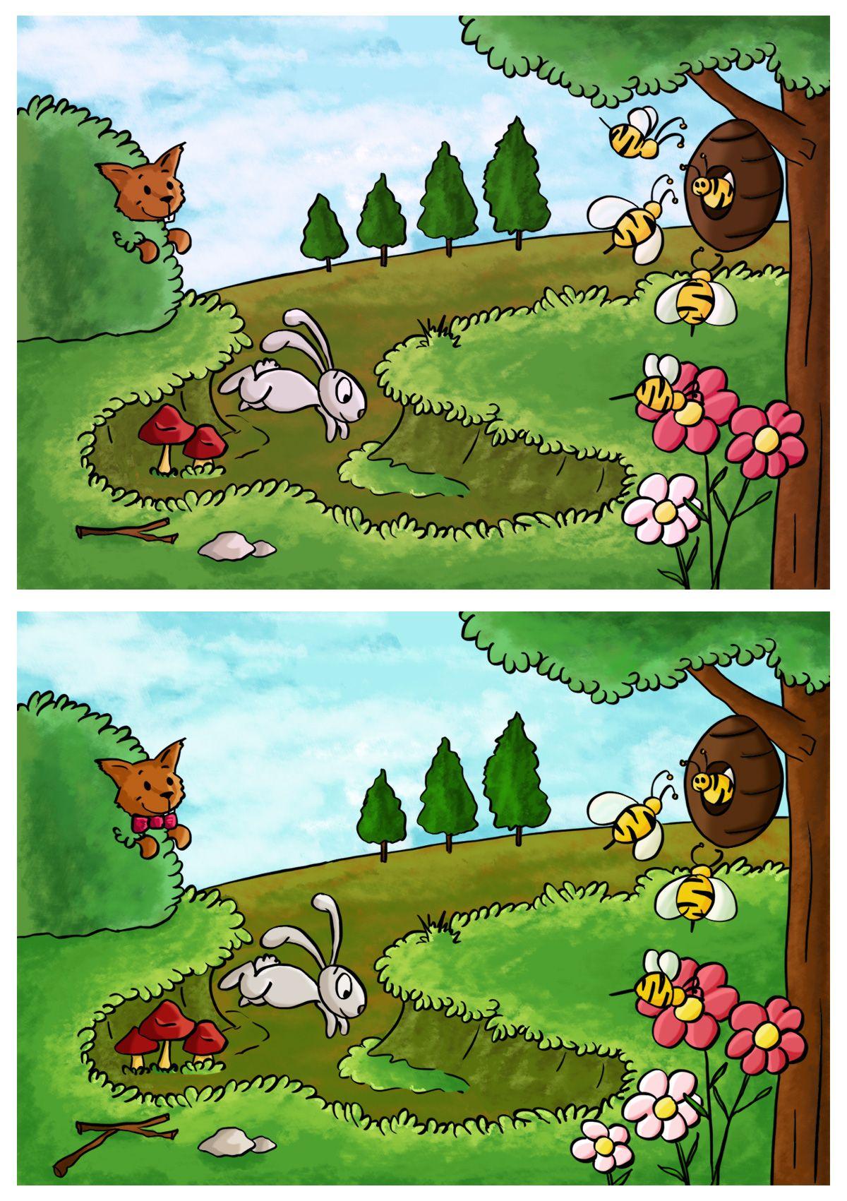 Jeux des 7 différences le printemps | Jeux des 7 différences, Jeux des 7 erreurs, Jeux printemps ...