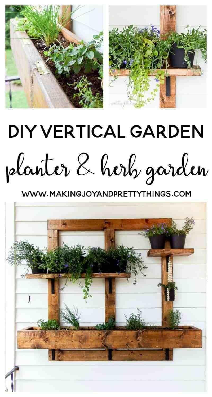 Apartment Balcony Decorating Diy Herbs Garden