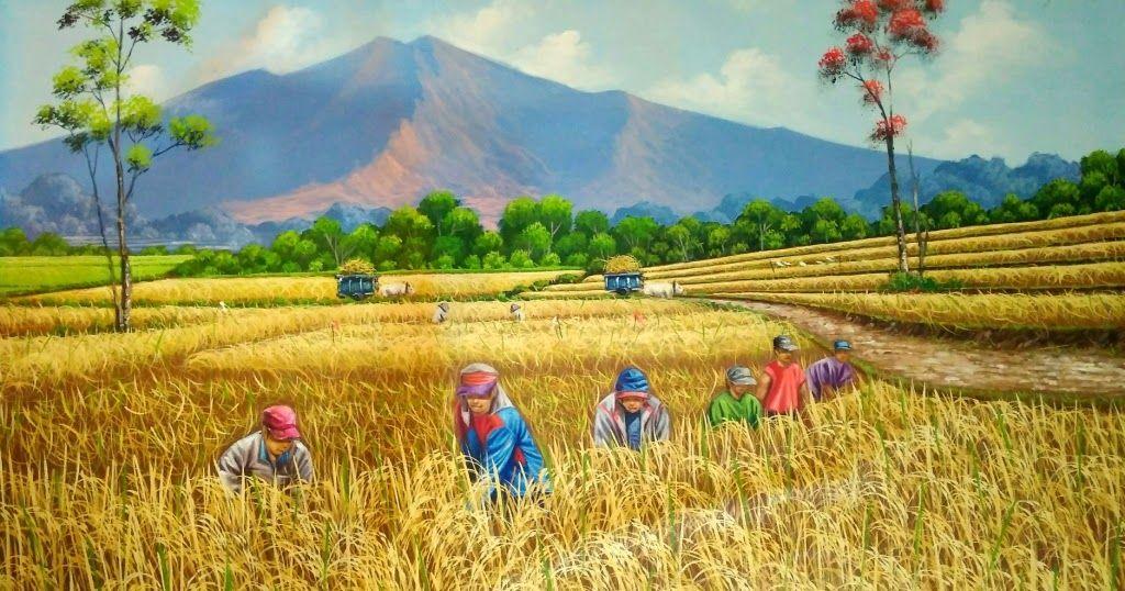 Harga Lukisan Pemandangan Alam Galeri Online Khusus Lukisan Berkelas Lukisan Download Hasil Gambar Untuk Lukisan Pane Di 2020 Pemandangan Lukisan Lukisan Dinding