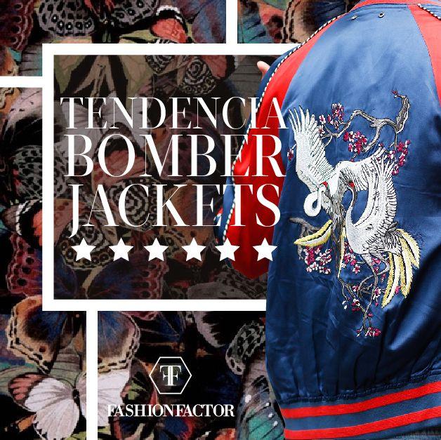 Lunes de conexiones inéditas. Los ochenta se reflejan en el  2016 gracias a las Bomber Jackets. Elige la opción que te caiga a la medida de tu estilo. Fashion Factor, porque la moda es una autopista de muchos carriles.