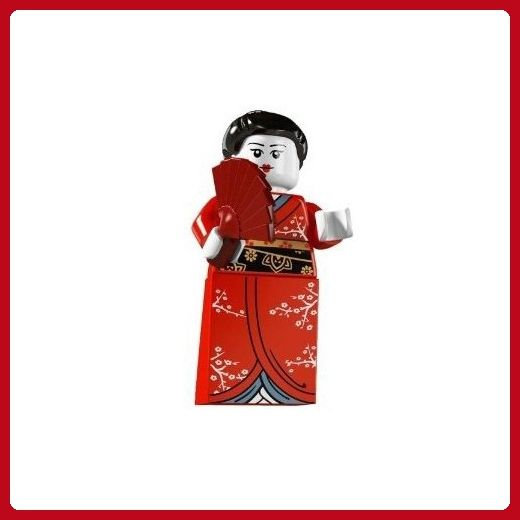 LEGO Series 4 Collectible Minifigure Japanese Kimono Girl - Fun stuff and gift ideas (*Amazon Partner-Link)