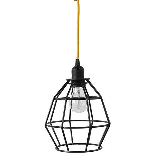 de ijzeren lamp a is gemaakt van ijzer en is de ideale