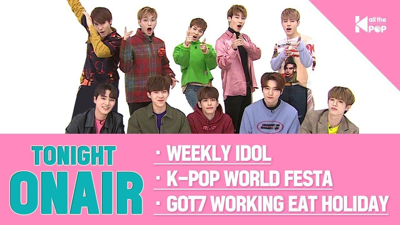 24 7 Online Kpop Idol Channel All The Kpop Kpop Idol Weekly Idol