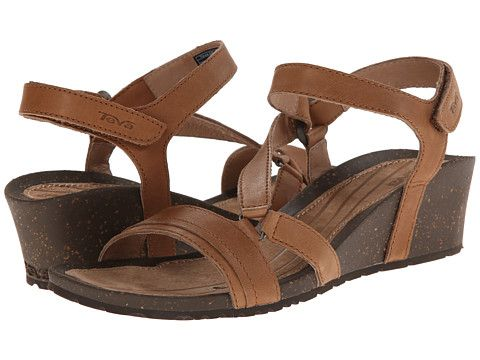 Teva Cabrillo Crossover Wedge Tan - Zappos.com Free Shipping BOTH Ways. Women  SandalsStyle ...