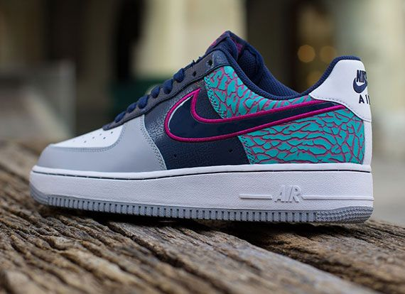 Nike air force 1 navy blue and white dresses