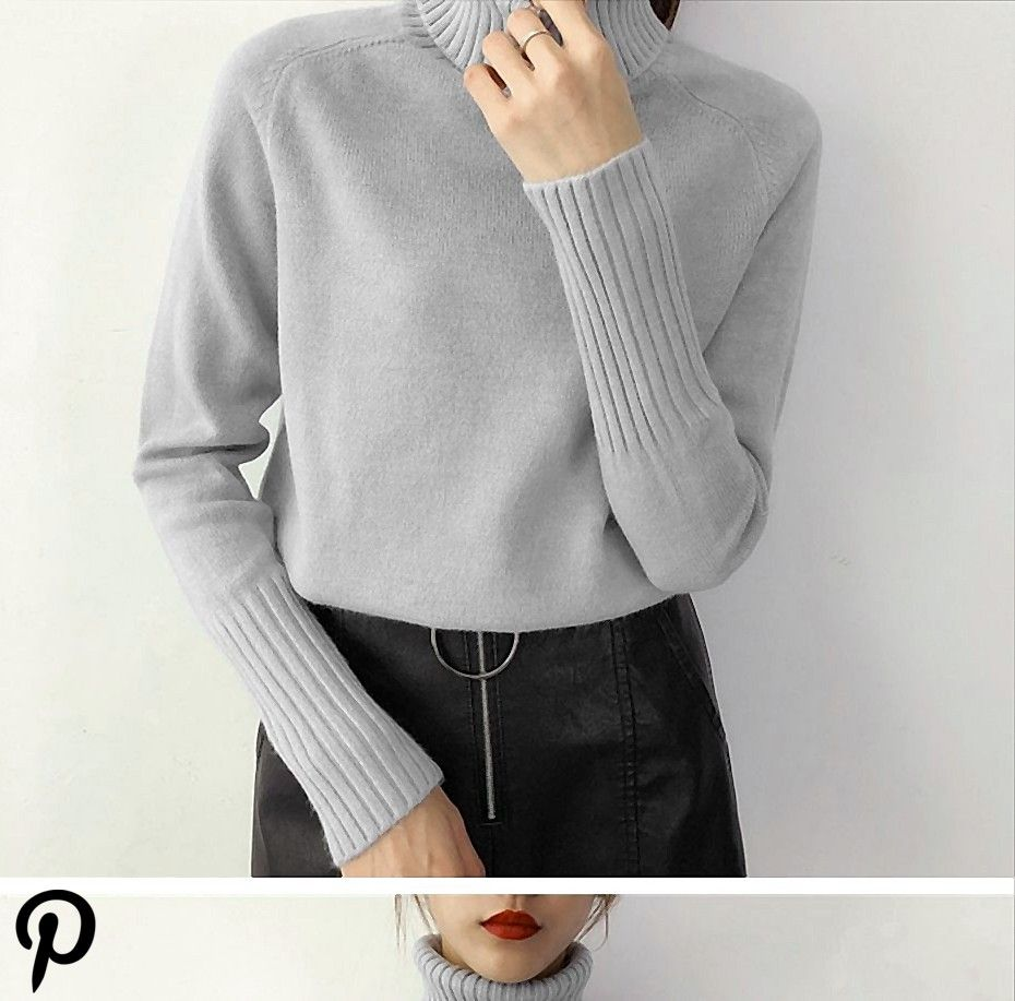 Autumn Winter Cashmere Knitted Women Sweater And Pullover Female Autumn Winter Cashmere Knitted Women Sweater And Pullover Female