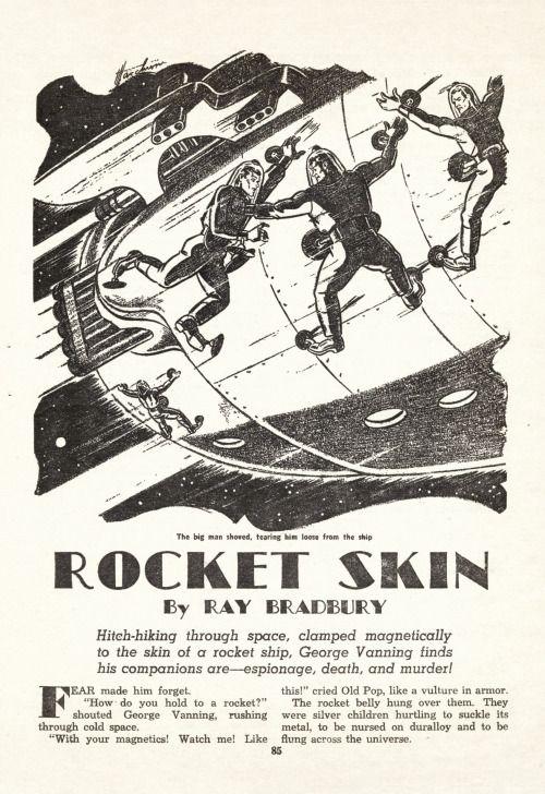 notpulpcovers:  Rocket Skin http://ift.tt/2lZpNem