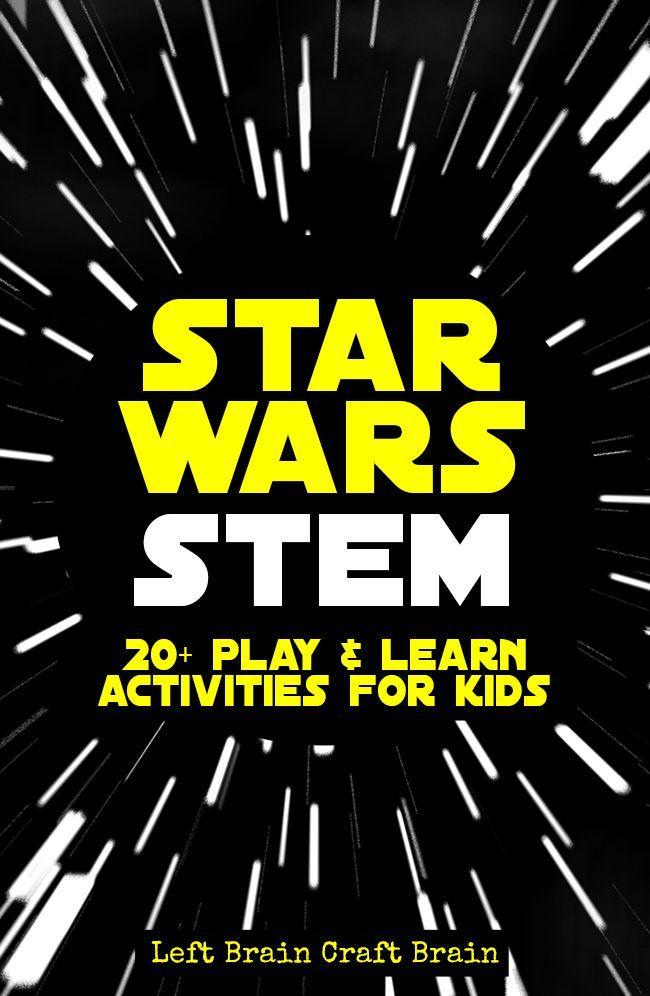 Star Wars STEM Learning Activities for Kids | HOMESCHOOLING