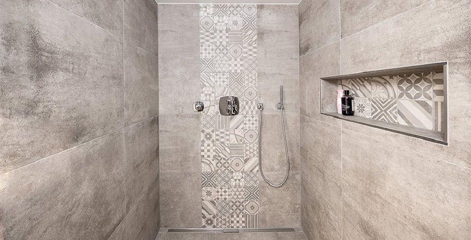 Bildergebnis Für Große Wandfliesen Dusche Badrenovierung - Dusche große fliesen