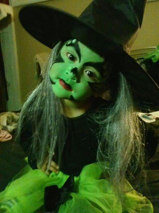 My Little Witch Kids Witch Makeup Halloween Makeup Witch Witch Makeup