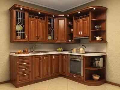 Reposteros modernos y clasicos en madera precios de for Muebles de cocina precios de fabrica