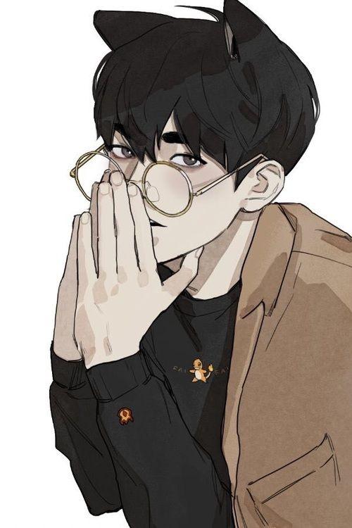 Cat Ears Glasses And Korean Image Anime Guys With Glasses Neko Boy Aesthetic Anime