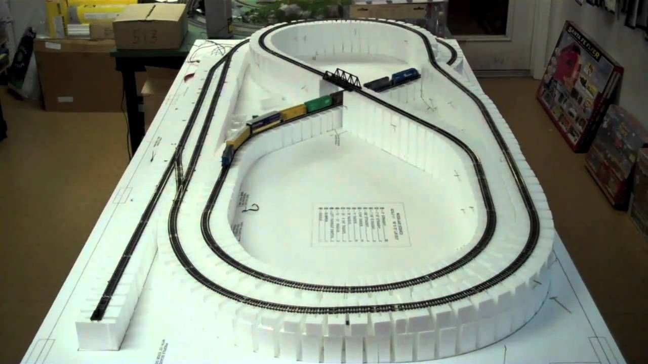 How To Build A Foam Train Layout Google Search Train