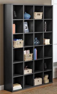 Myhome Mega Media Storage Shelf Black Media Storage Unit