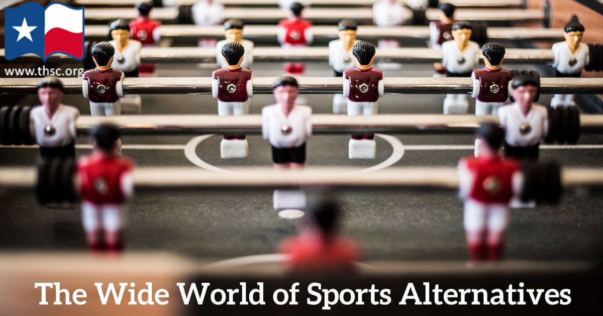 The wide world of homeschool sports and sports