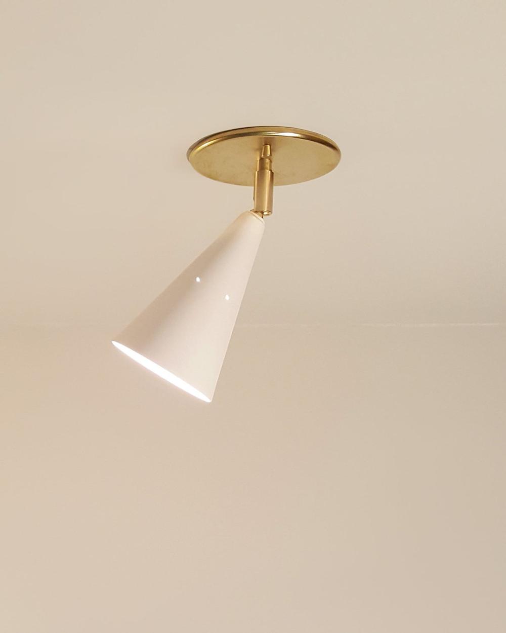 Mid Century Lighting Fixture Swivel