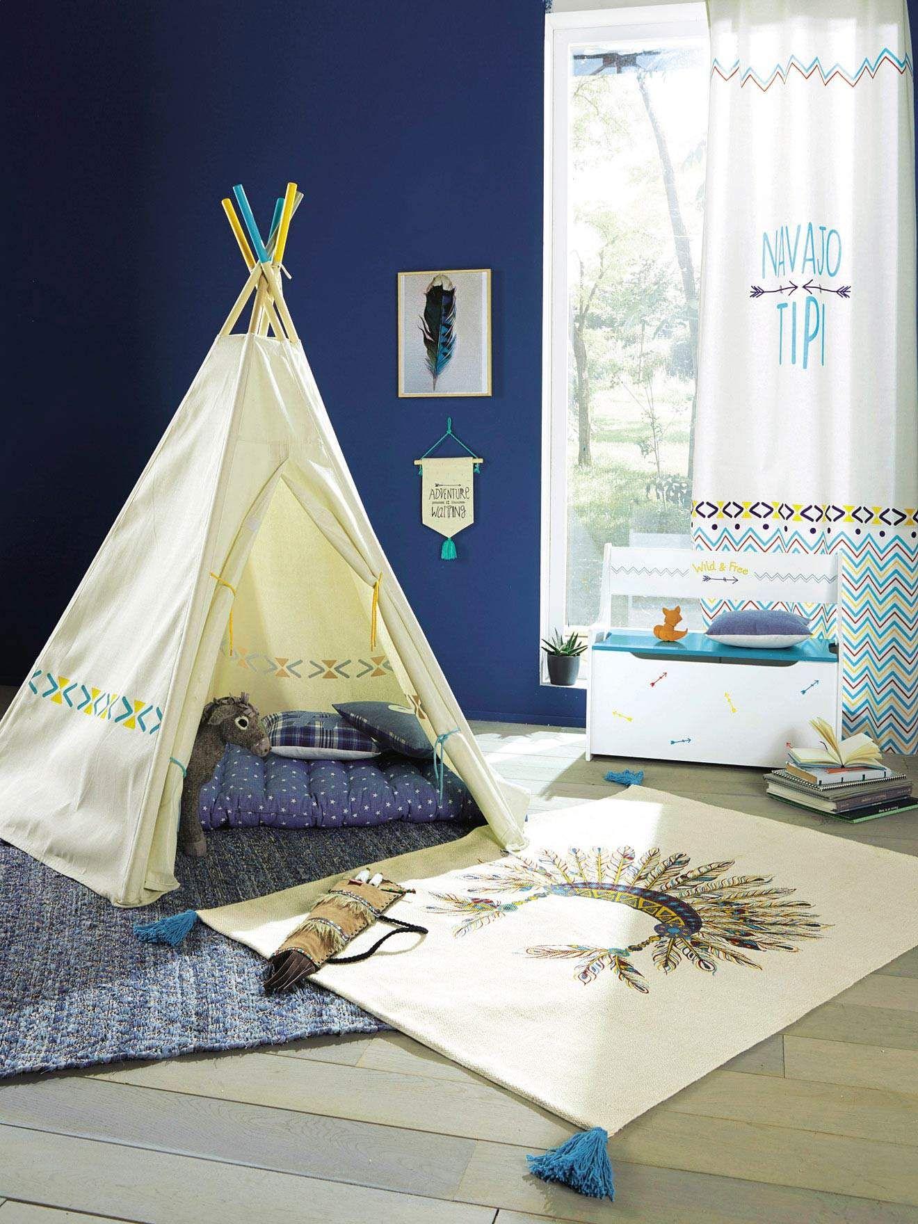 Tente Chambre Garcon dedans mon prochain diy : le tipi enfant - inspirations et tutos - blog