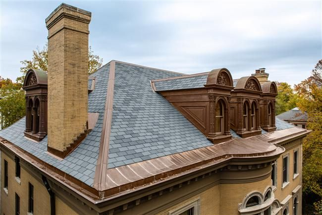 Ecostar Majestic Slate Gallery Roofing Copper Roof Roofing Systems