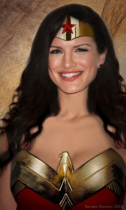 Gina Carano as Wonder Woman by renstar71 | Wonder Woman ...