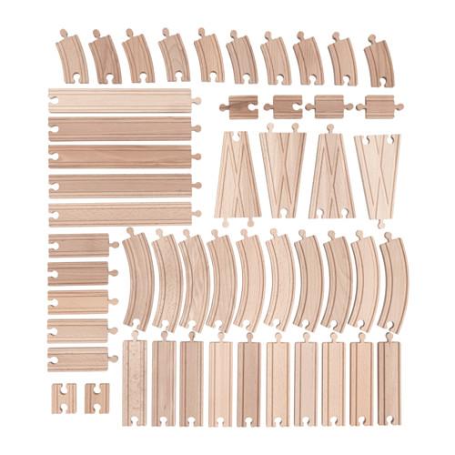 Lillabo 50 Piece Track Set Ikea Toys