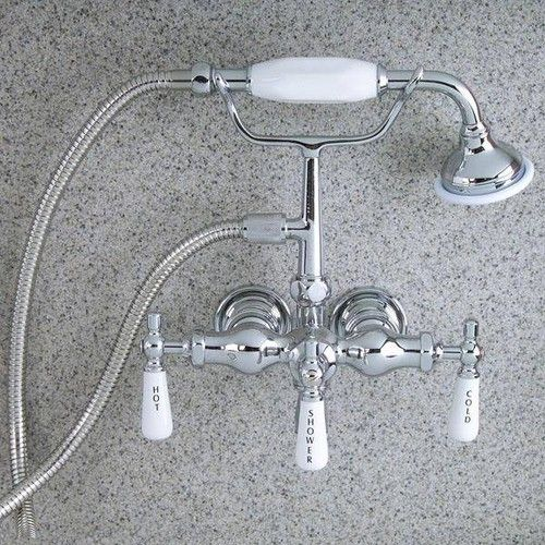 Barclay Mounted Hand Held Clawfoot Tub And Shower Faucet 280 00