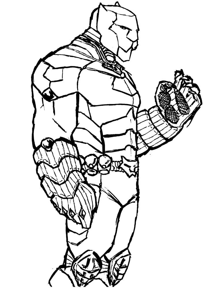 Shuri Black Panther Coloring Pages Halloween Coloring Pages Halloween Coloring Superhero Coloring