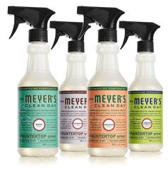 Mrs Meyer S Clean Day Countertop Spray Meyers Cleaning Products