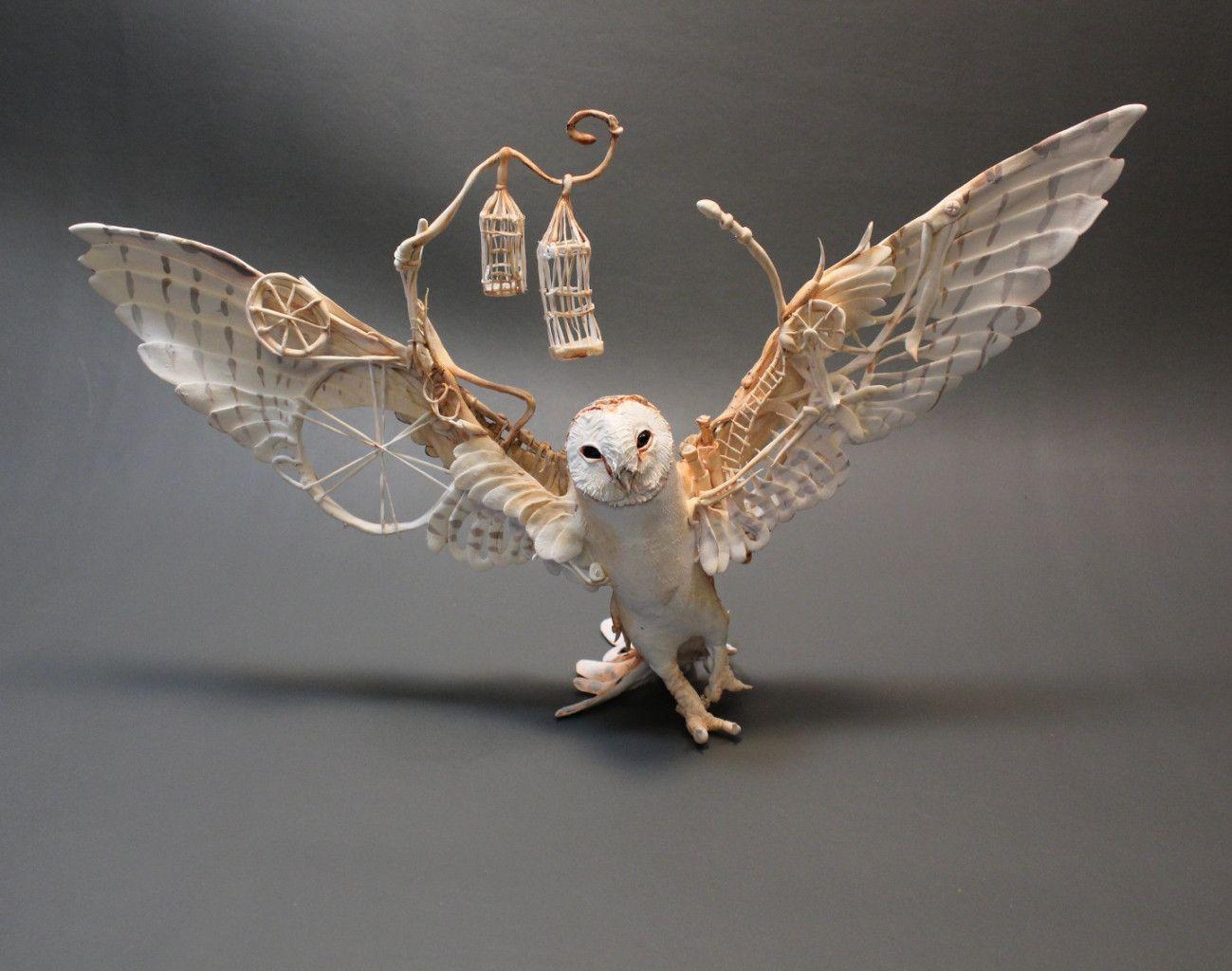 The Mythical Animals Of Ellen Jewett Sculpture Brought To Life - Surreal animal plant sculptures ellen jewett