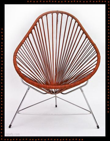 Acapulco Chair · Leather Lapety.com