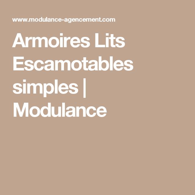 Armoires Lits Escamotables simples | Modulance