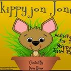 Skippyjon Jones: A 50 Page Activity Unit That Covers All Five Skippyjon Jones Books that are written by Judy Schachner.