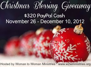 Homemaker By Choice: Christmas Blessing Giveaway!  #giveaway