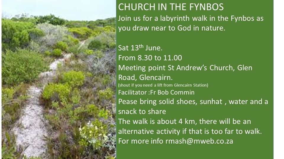 Join a meditative church service this saturday in the
