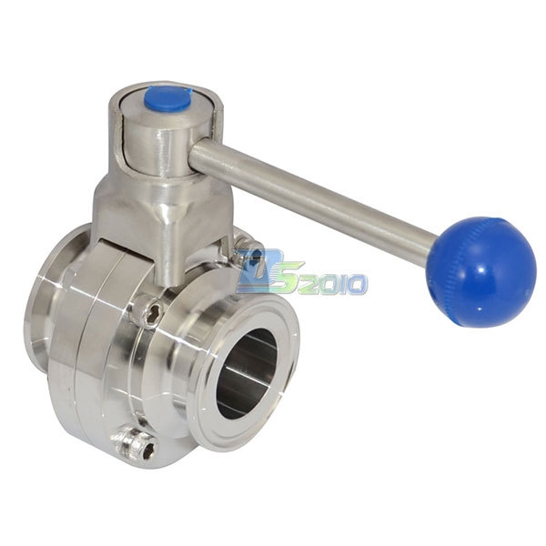 """(58.18$)  Buy here  - """"High Quality1-1/4"""""""" 1.25"""""""" 32mm OD Sanitary Butterfly Valve Ferrule OD 50.5mm SS316 1000 WOG"""""""