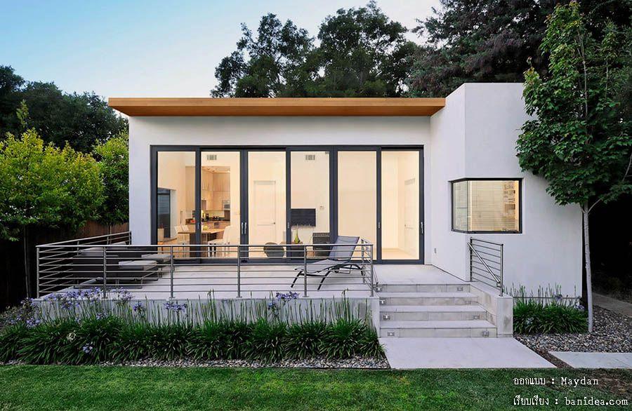 แบบบ้านโมเดิร์น เรียบง่าย ผ่อนคลายด้วยระเบียงบ้าน « บ้านไอเดีย แบบบ้าน ตกแต่งบ้าน เว็บไซต์เพื่อบ้านคุณ