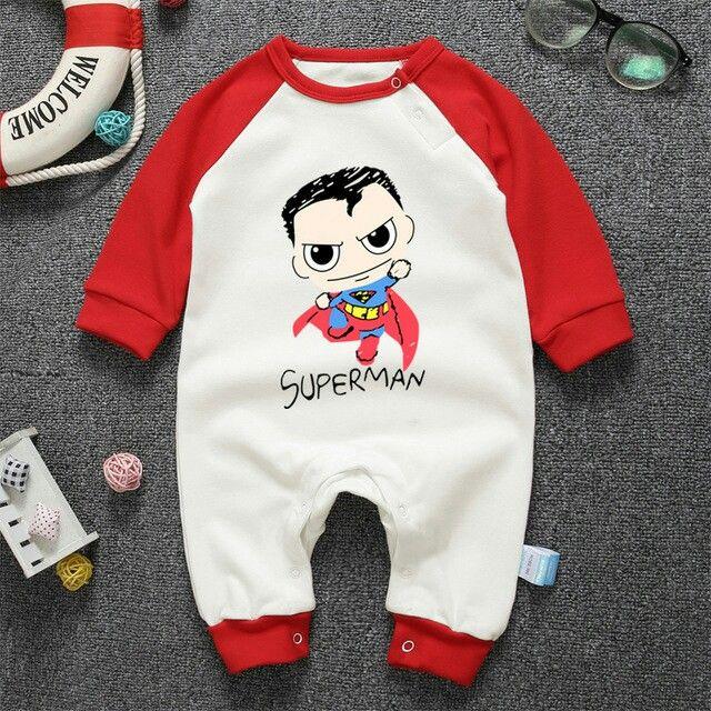 Baby Girls Vest Superman Vest Newborn Playsuit Present Bodysuit Babygrow Gift