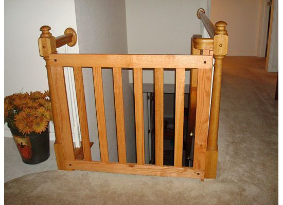 Exceptional Wooden Baby Gates Design
