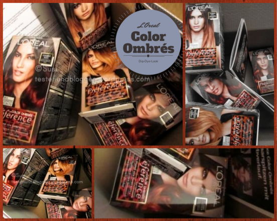 Ombres Loreal Rot Kupfer Wild Ombres Dip Dye Look
