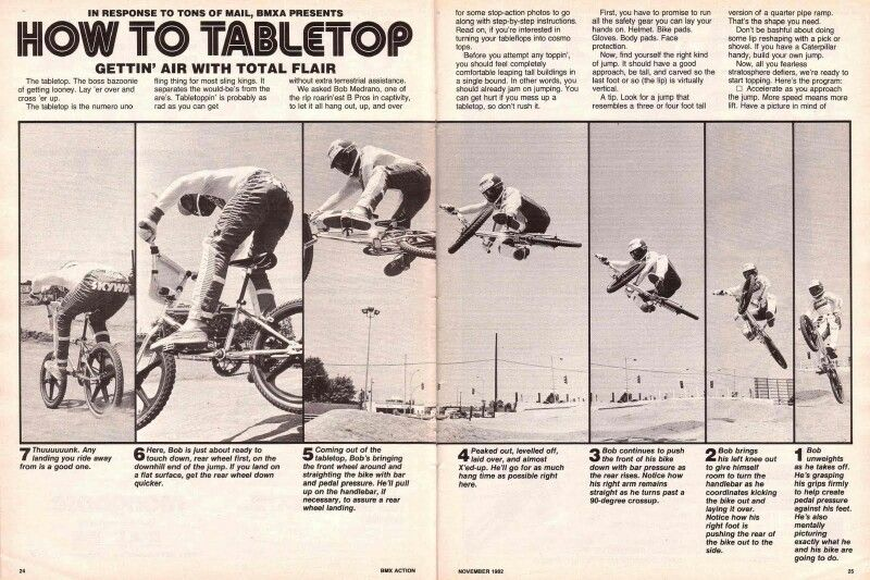 How To Tabletop Back When This Was The Coolest Trick You Could