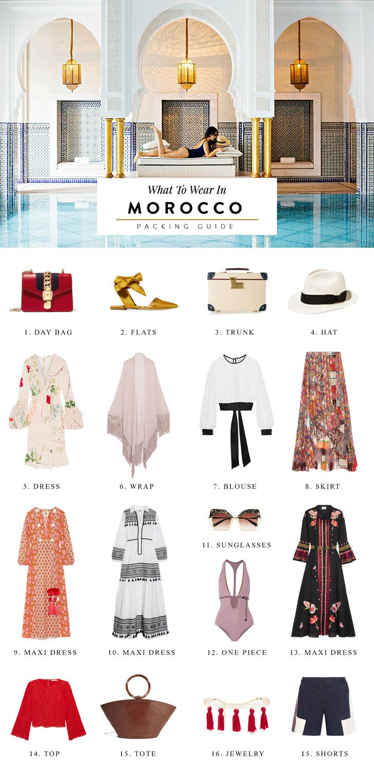 What To Pack For Morocco Outfit Ideas Amp Packing List