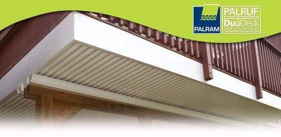 Duodeck Brackets And Palruf Corrugated Pvc Panels Decks