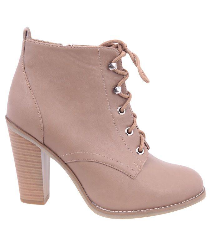 ddbce5d9b6ba Tally Weijl Lace up festival high heel ankle boots booties sz eu36 us5 uk3   TallyWeijl  FashionAnkle