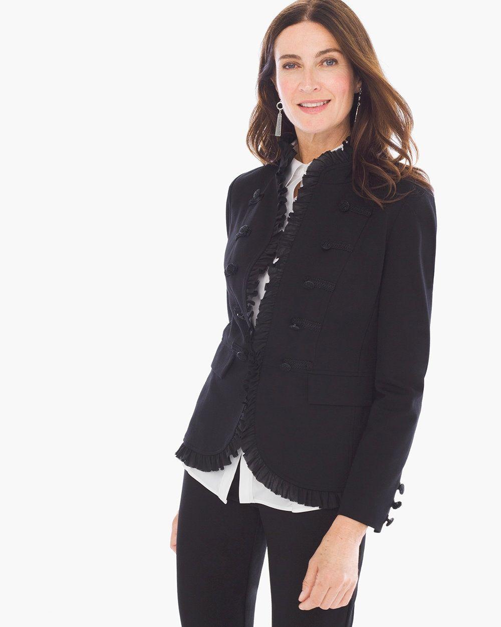 Chico S Velveteen Blazer Clothes Design Outerwear Women Winter Fashion [ 1250 x 1000 Pixel ]