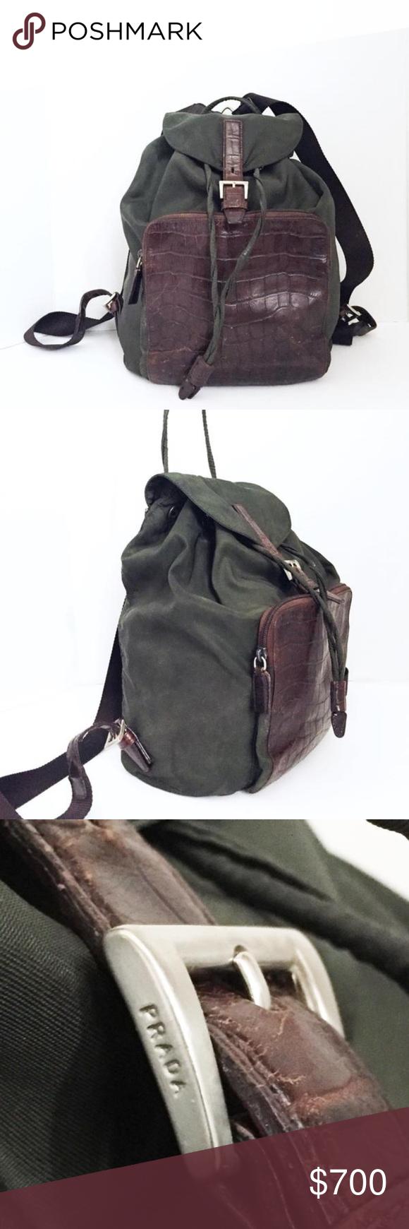 Vintage Prada Nylon Backpack- Fenix Toulouse Handball e13f1eba97