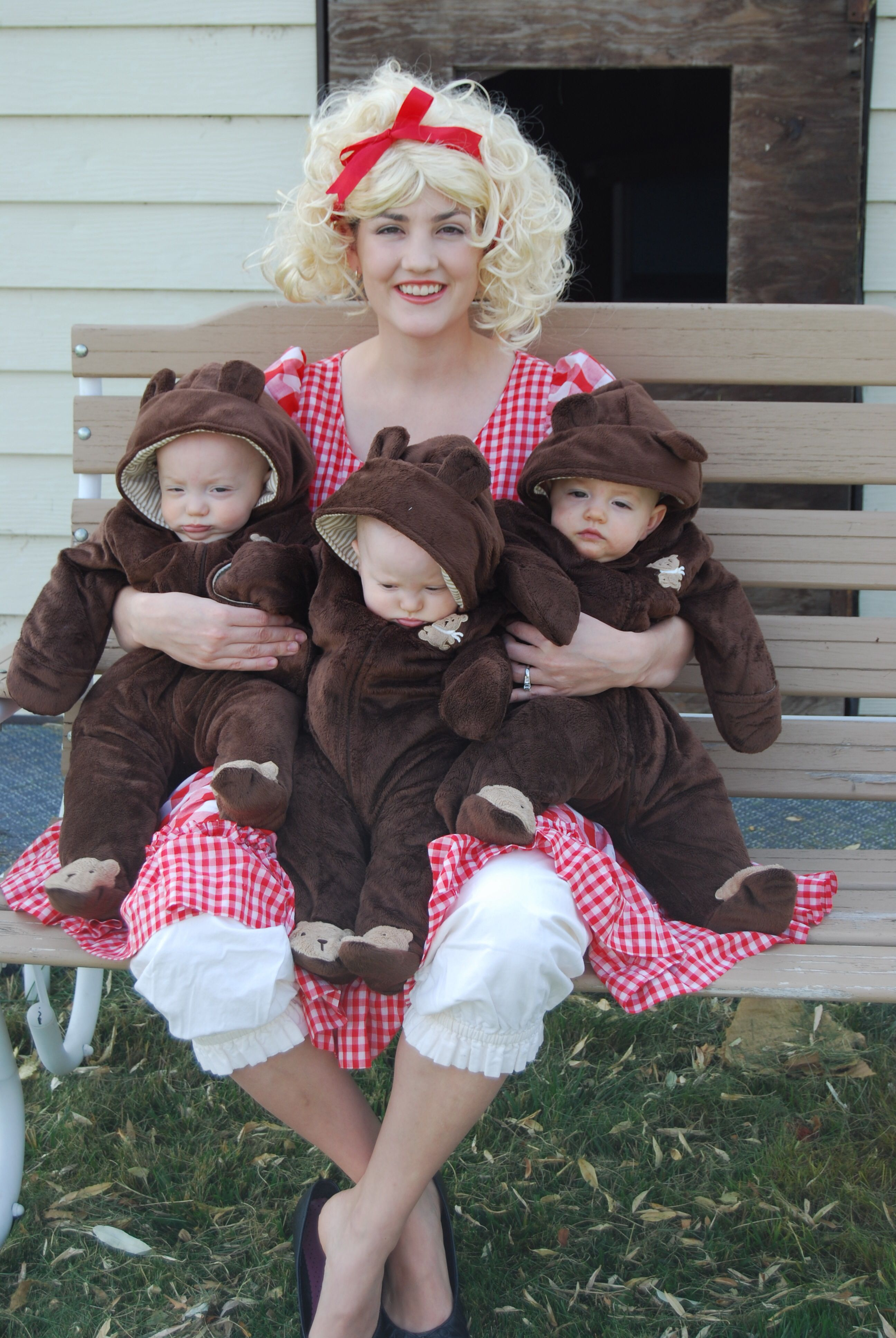 e902375f546 Halloween costume idea for triplets | Stuff I made.. | Baby ...