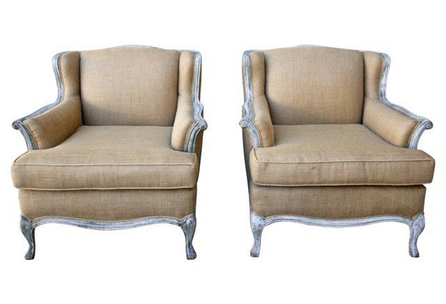 French Painted Armchairs Pair Sit Stay Armchair Furniture