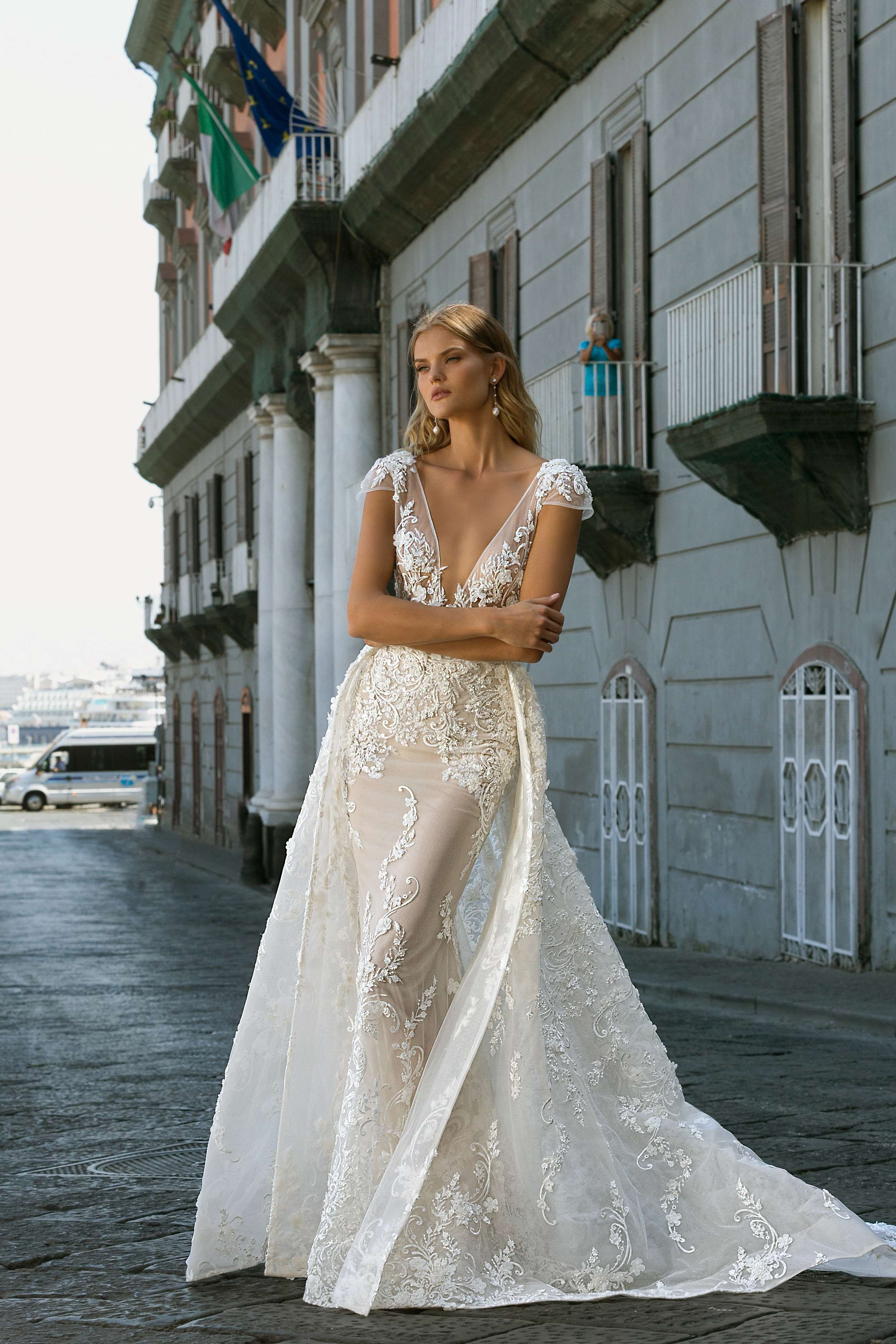 Robe de mariée Berta 20-105 en 2020 | Robe