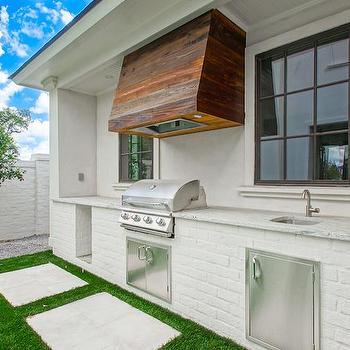 white stucco outdoor kitchen hood design ideas in 2020 outdoor kitchen outdoor kitchen on outdoor kitchen vent hood ideas id=20498