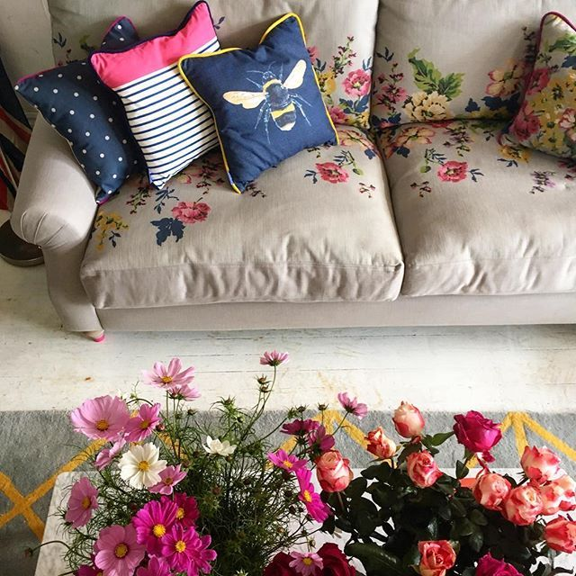 Say Hello To Our Cambridge Sofa, Bursting With Cosiness, Character And  Colour. Hereu0027s A Sneak Glimpse Of Our First Joules Home Furniture  Collection With ...