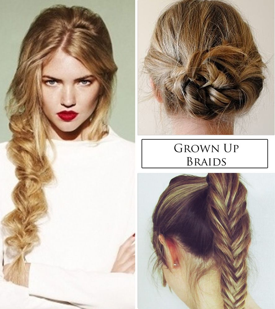 Images For > Summer Hairstyles Braids | Μαλλάκια κορδελάκια ...